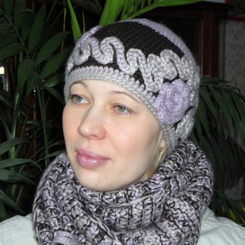 Модели вязаных шапок с описанием