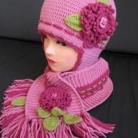 вязание крючком шапочки для девочек на осень фото для нас пункт