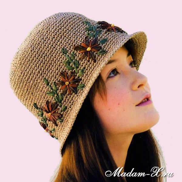 Как сделать летнюю шапку