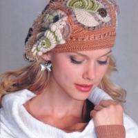 шапки вязаные спицами женские с описанием. вязанные кофты спицами со
