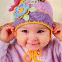 Вязаные шапки для детей с фото