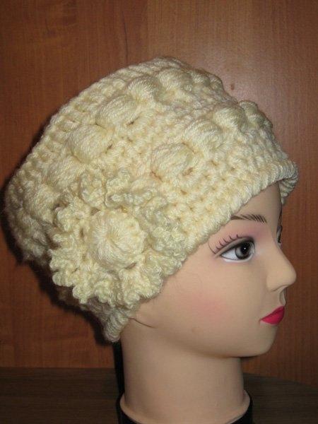 Вязаные шапки - кубанки от