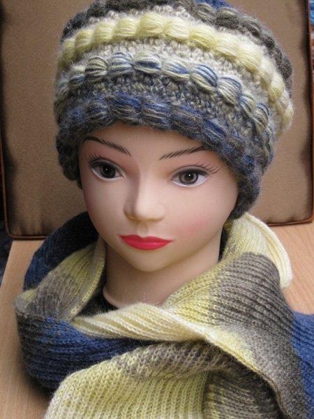 Вязаные шапки - кубанки от Виринеи - Холодовой Людмилы.