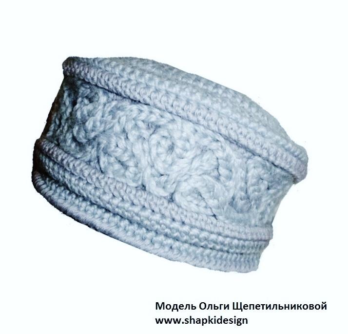 вязание шапки кубанки спицами