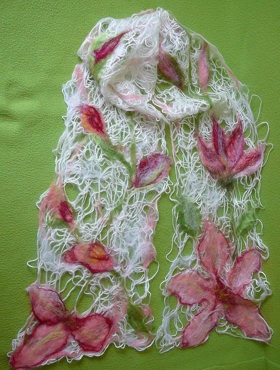 Вязание из шерсти из валяния 2