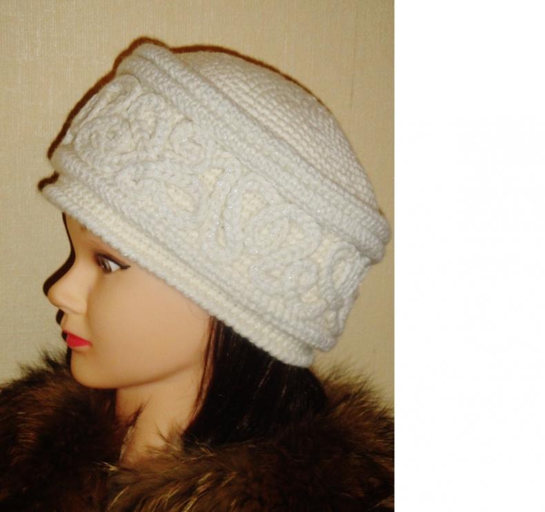 Вязание шапок-кубанок