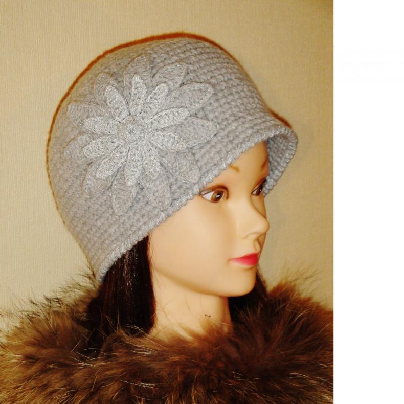 Вязаная шляпа Вивьен