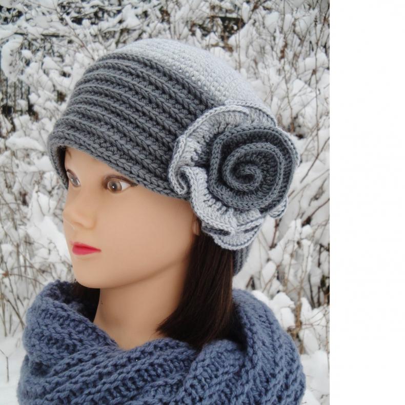 Вязаная шляпа Саманта