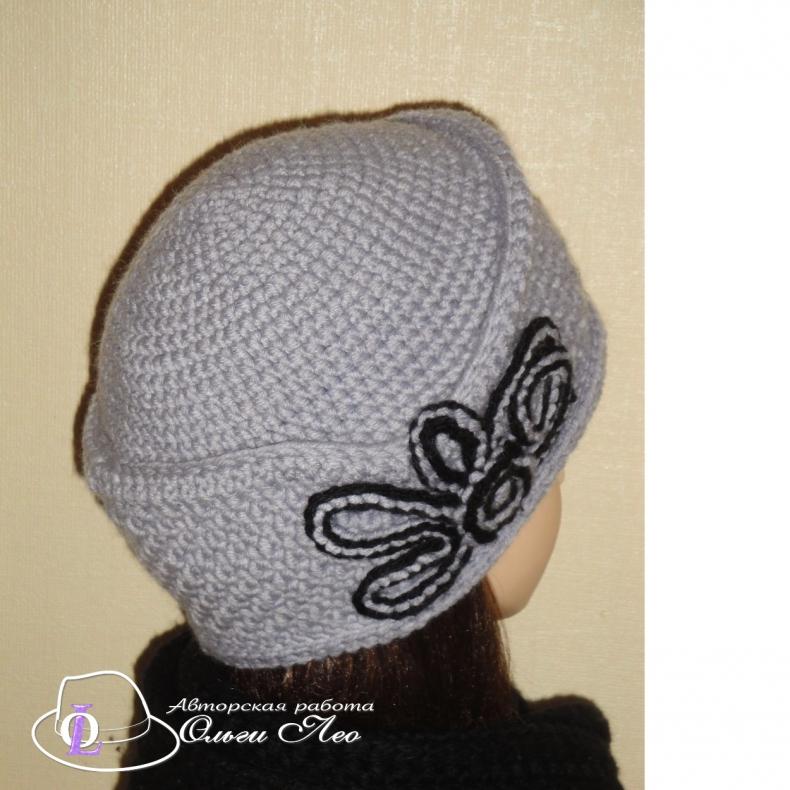 Вязааная шляпа Мими
