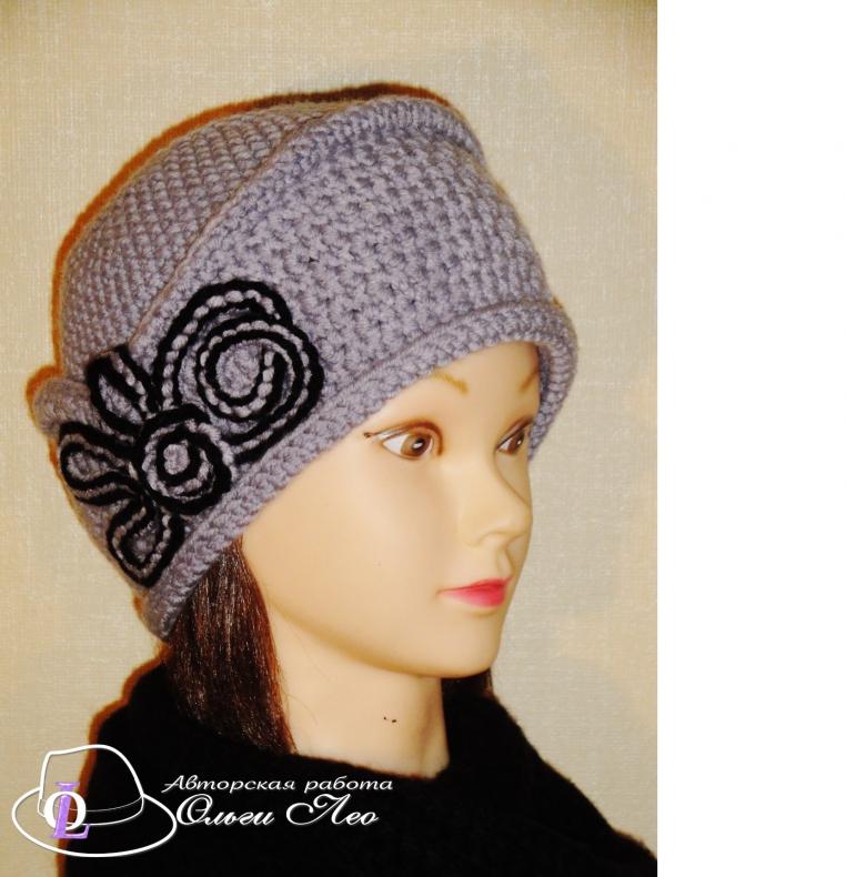 Вязааня шляпа Мими